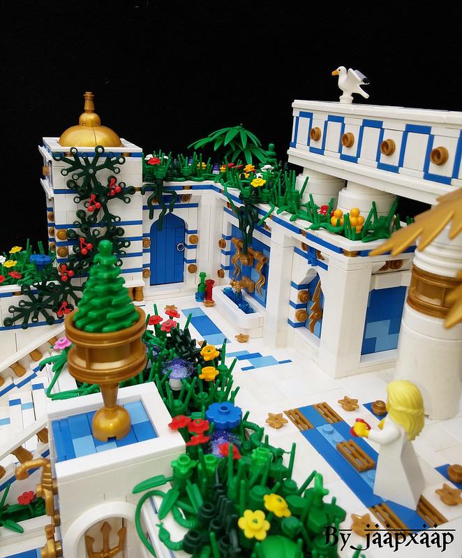 Giiardini pensili di Babilonia - The Hanging Gardens of Babylon (detail 2)