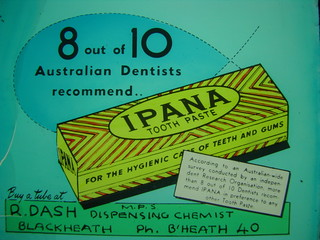 Ipana tooth Paste