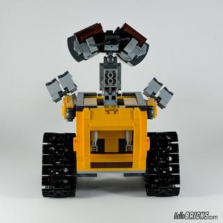 REVIEW LEGO 21303 WALL-E LEGO IDEAS 20