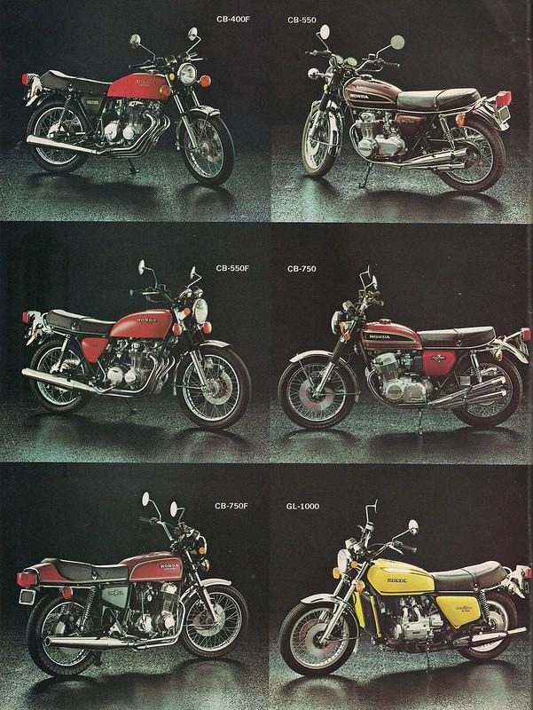 Honda fours 1