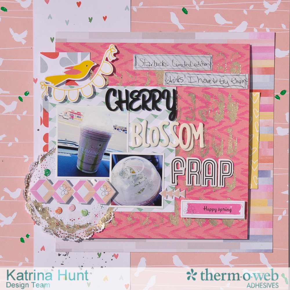 Cherry_Blossom_Frap_Scrapbook_Layout_Mixed_Media_ThermOWeb_Katrina_Hunt_1000Signed-1