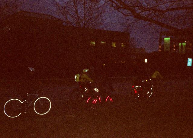 Night Bike Reflections