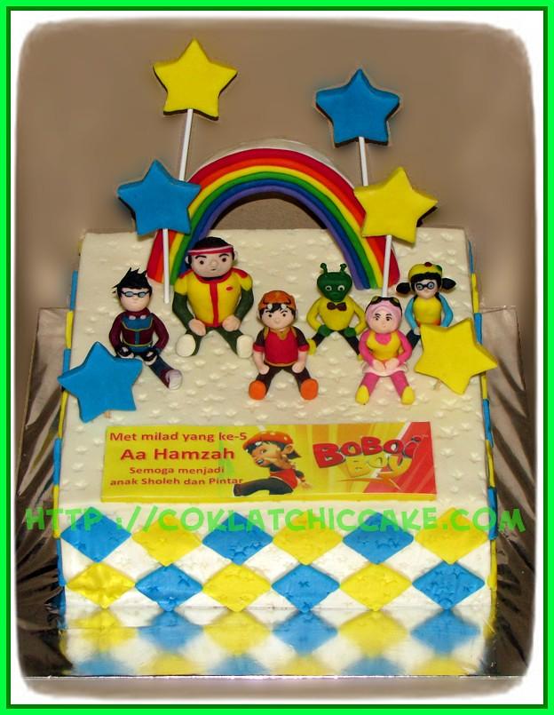Cake Boboiboy