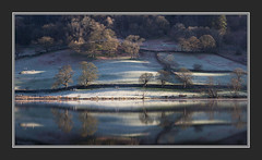 Sun and Frost on Rydal Water II