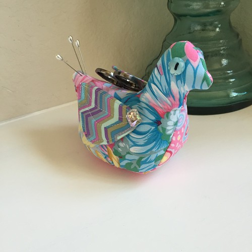 Loopy Academy pincushion project