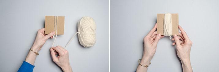 DIY Tassel blanket · DIY Manta con borlas · Fábrica de Imaginación
