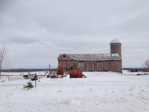 20140205 St. Cloud, Wisconsin wimter barn scene - 5