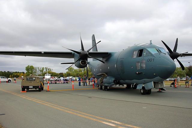 C-27 Spartan RAAF 35Sqn A34-001 Canberra 3Apr2016