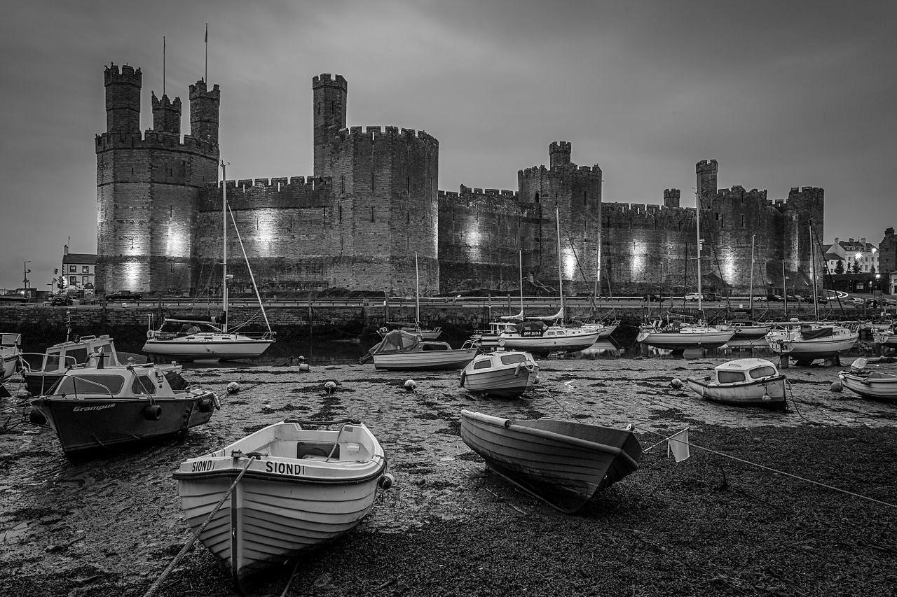 Caernarfon Castle. Credit RevDave