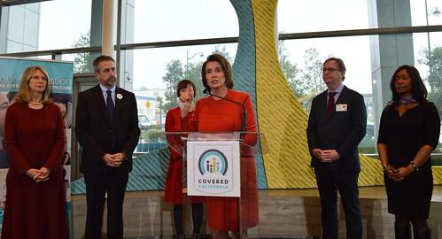 Congresswoman Pelosi highlights Covered California's Success Delivering Care