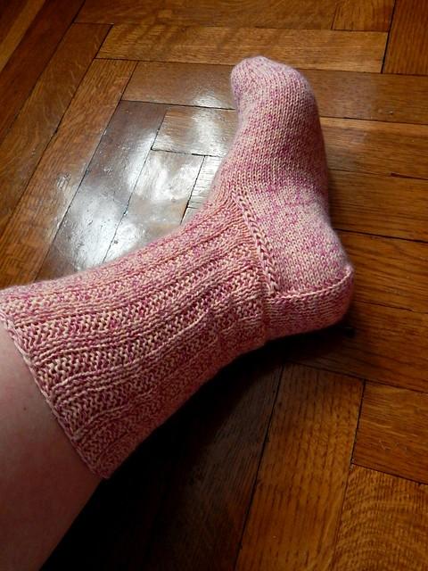 носки с квадратной пяткой без клина подъема, один носок | Хорошо.Громко.
