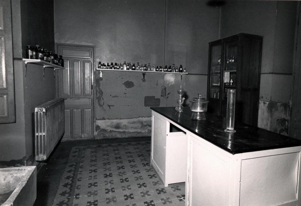 Sala de laboratorio. Foto Fernando Medrano