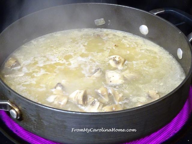 Chicken in White Wine with Mushrooms | From My Carolina Home