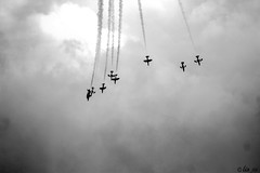 TRIBUTE alle FRECCE TRICOLORE IN B&W