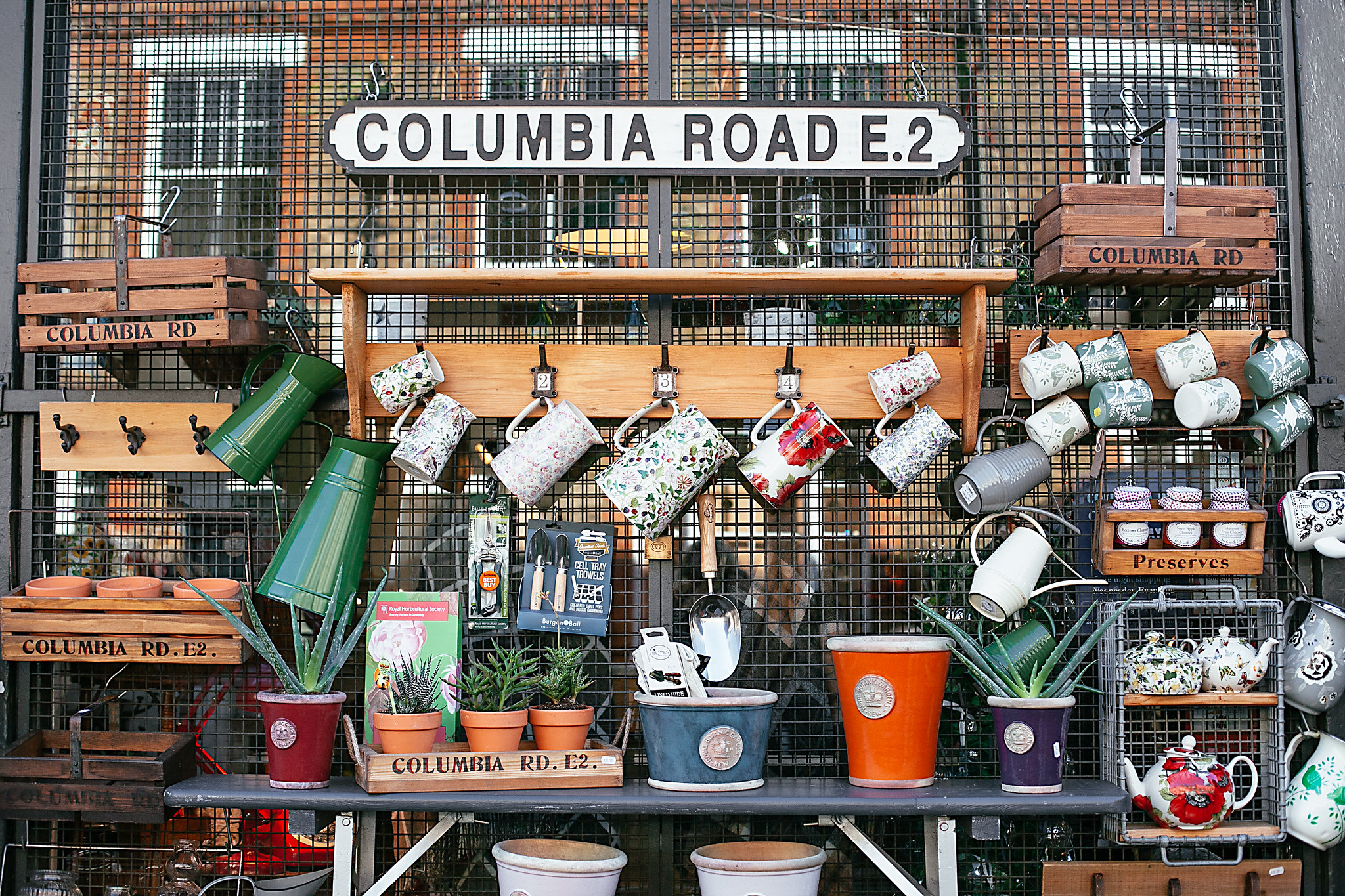 Columbia Road Market, London