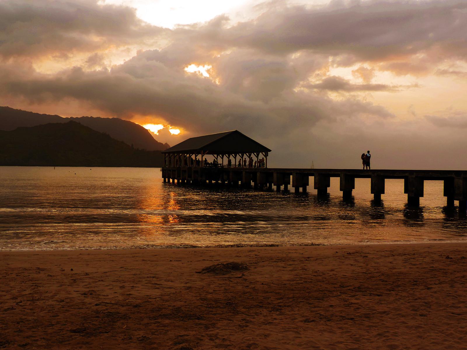 Kauai Sunsets: Hanalei Bay