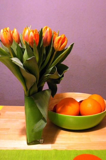 Orange/green I