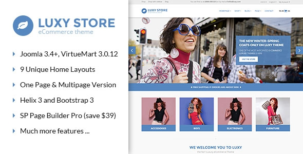 ThemeForest Vina Luxy v1.0.0 – Multipurpose VirtueMart Joomla Template