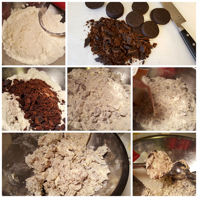 Girl Scout Thin Mint Scones