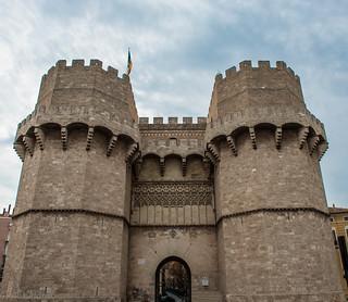 Puerta de Serranos, Vallencia