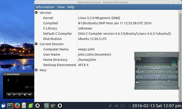 EEEPC with Xubuntu