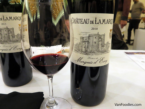 Chateau de Lamarque Rouge 2010 and 2013