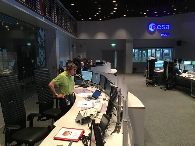 ExoMars team training for launch