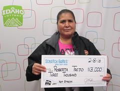 Roberta Trejo - $3,000 Hot Streak
