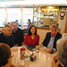 State Rep. Gail Lavielle meets with constituents at Orem's Diner