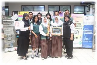 SMK Cakra Buana Juara di Lazuardi Fest 2016