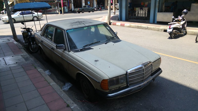 W123 transitions from beater to classic
