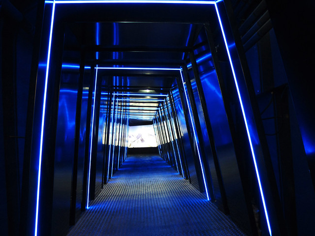 Blue Tunnel - Nationalpark Gallery of Kitzsteinhorn Glacier, Kaprun, Austria
