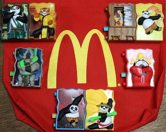 McDonald's x Kung fu Panda