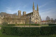 Aisne - Abbaye et église Saint Martin de Laon