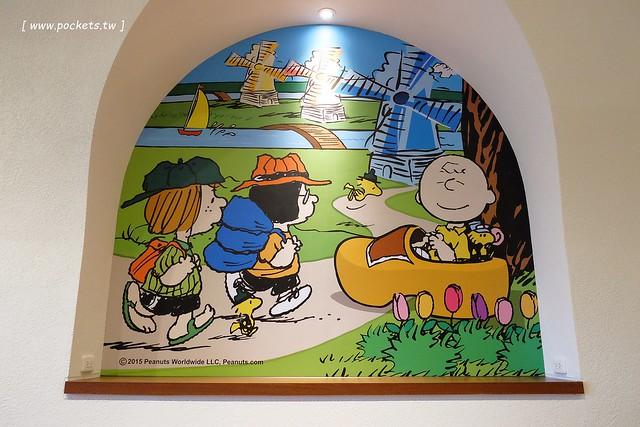 25490470416 265646bd94 z - 【台中西屯】查理布朗咖啡.Charlie Brown Cafe:位於秋紅谷正對面鄰近朝馬車站,環境很漂亮也很好拍,餐點可愛觀賞性大於美味性