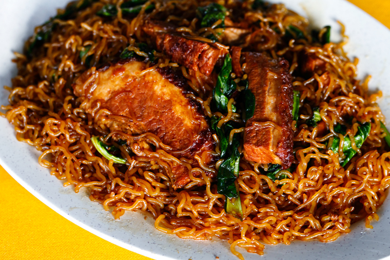 Fried Khao Yuk Noodle