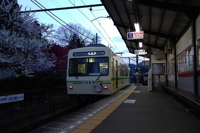 2016/03 叡山電車×NEW GAME! ラッピング車両 #81