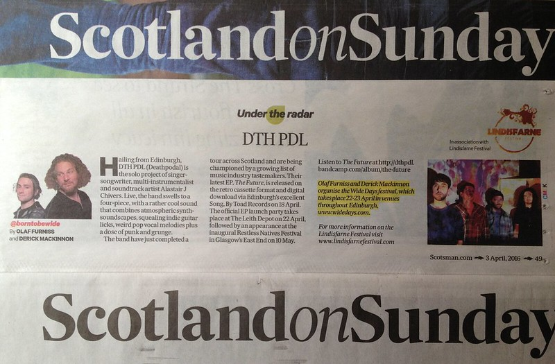 Olaf Furniss and Derick Mackinnon, Scotland On Sunday, 27 March, Scumpulse