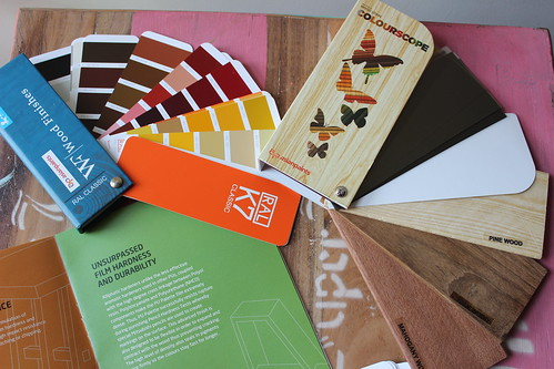 Asian Paints wood color kit
