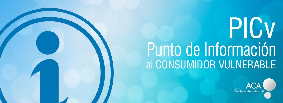 Punto de informacion al consumidor vulnerable PICv