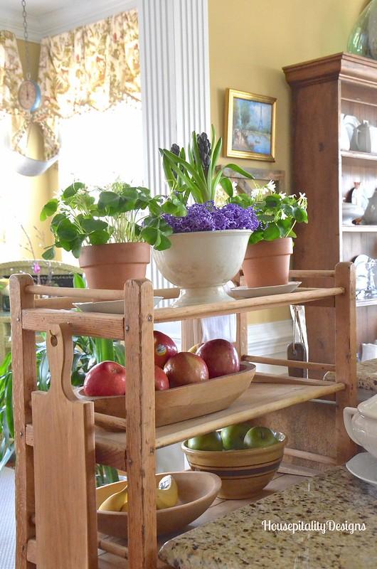 Antique Baker's Rack - Housepitality Designs