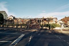 Demolition of the former department store - Abriss des Ex-Kaufhauses und der alten Post in Bad Lobenstein