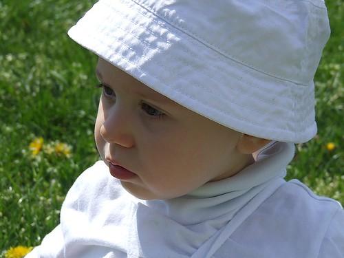 赤ちゃん 日焼け 対策 帽子