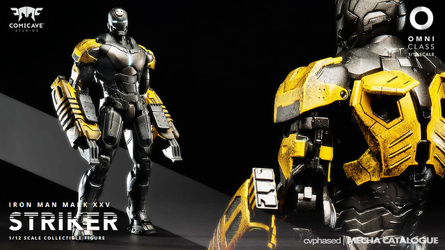 "Comicave Studios - Omni Class 1/12 Iron Man Mark 25 ""Striker"""