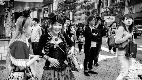 Shibuya Cosplay, Tokyo, 2015