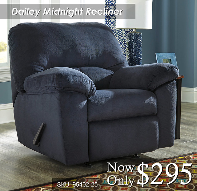 Dailey Midnight Recliner