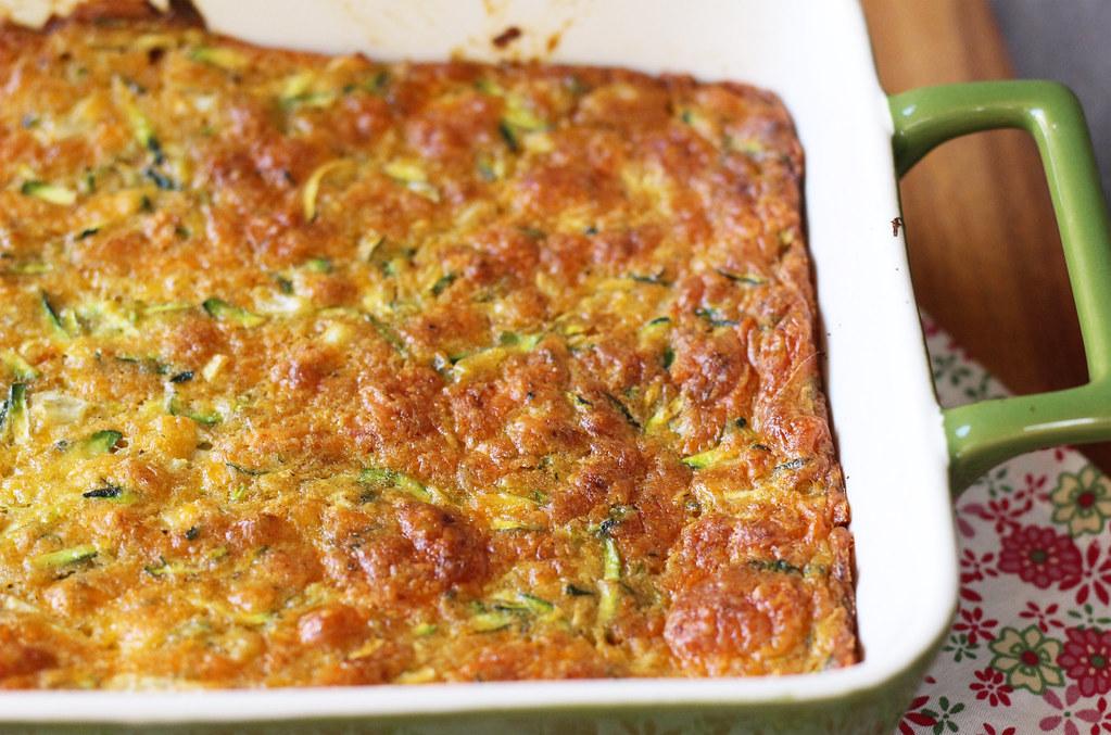 zucchini cheddar pie