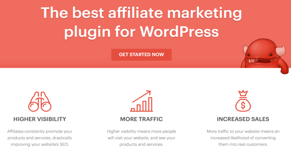 AffiliateWP v2.3 - Affiliate Marketing Plugin WordPress