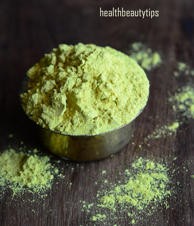 Homemade Herbal Bath Powder