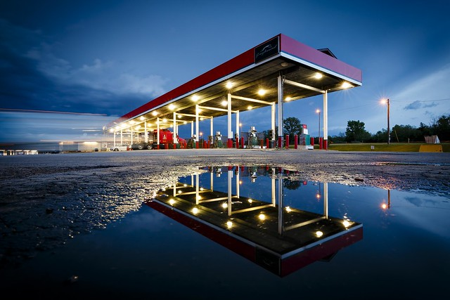 Reflected Truck Stop
